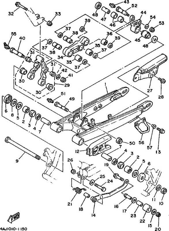 Yamaha Ty Mono Parts